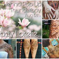 Henna Pop Up in Thunderbay