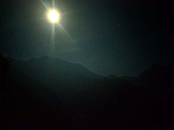 Once in a Blue Moon Night Trek ) March 31st 2018