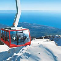 Tahtal mountain cable car Phaselis Olympos.