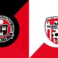 Bohemians v Derry City