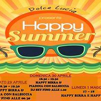 Happy Hour - Dolce Lucia &gtsabato domenica luned&lt