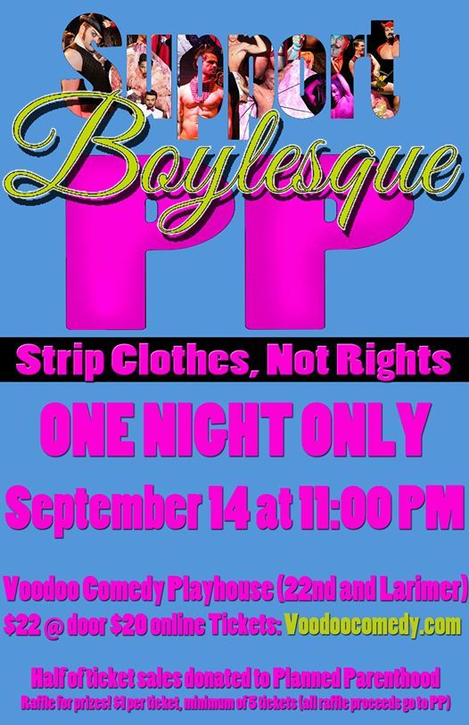 Boylesque for PP Strip Clothes Not Rights
