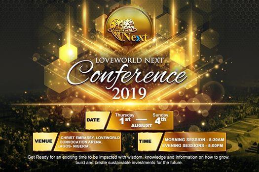 Loveworld NEXT Conference 2019