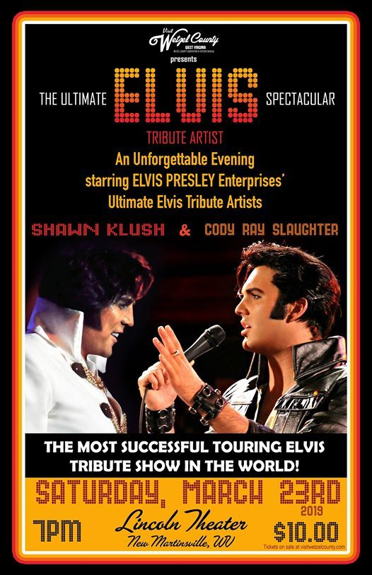 Ultimate ELVIS Tribute Artist Spectacular