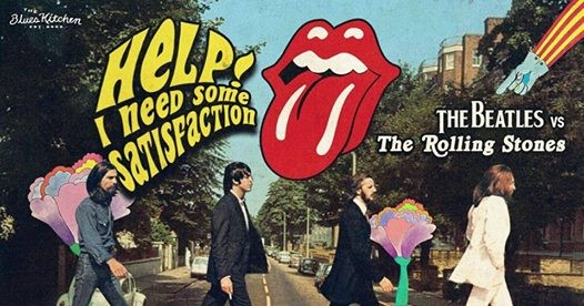 Help I Need Some Satisfaction Beatles vs Rolling Stones