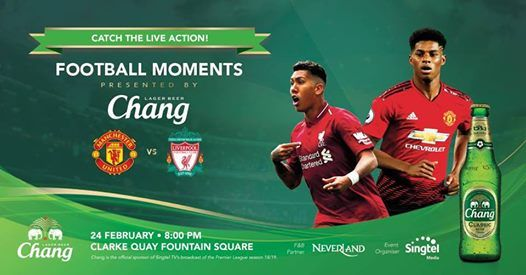 Football Moments Presented By Chang Beer