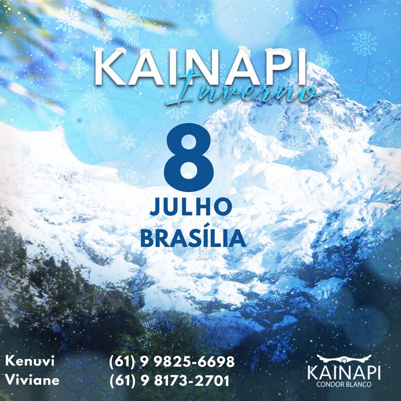 Kainapi de INVERNO - Braslia
