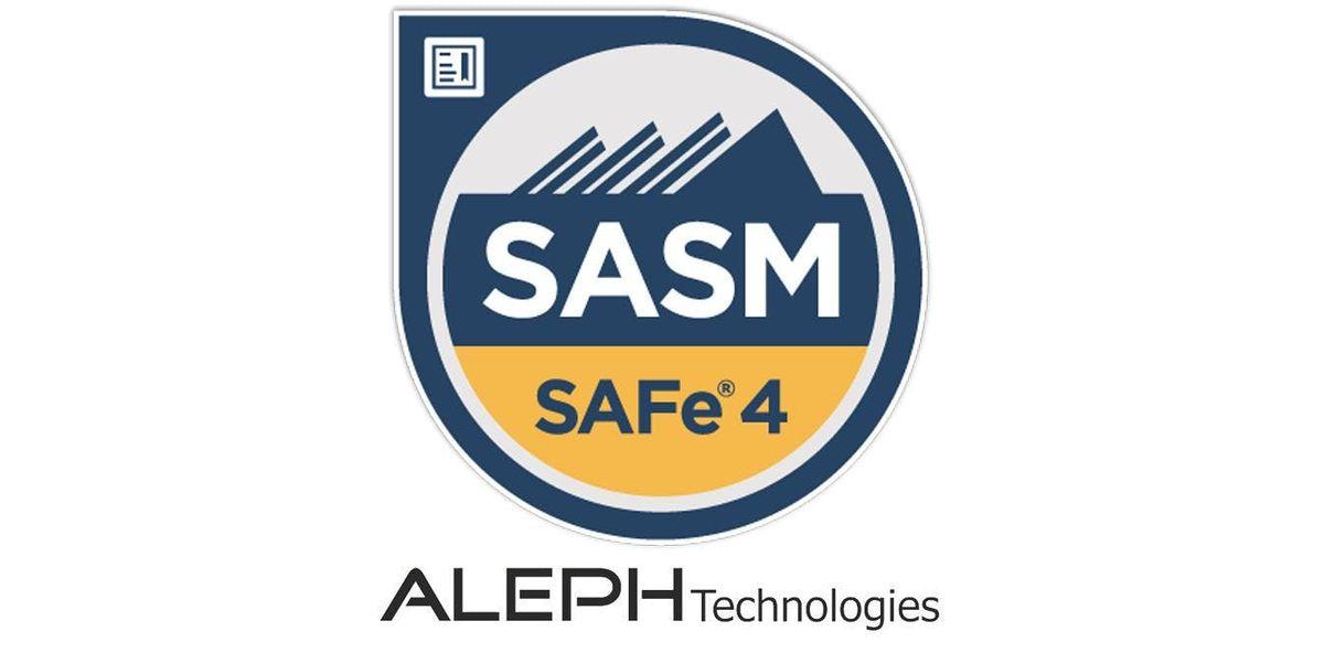 SAFe Advanced Scrum Master (SASM) - Austin Texas