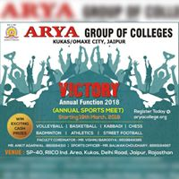 Annual Sports Meet at Victory 2018 - The Annual Function