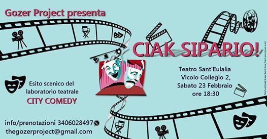 Ciak Sipario Esito scenico del laboratorio teatrale City Comedy