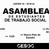 Asamblea de Estudiantes De Trabajo Social