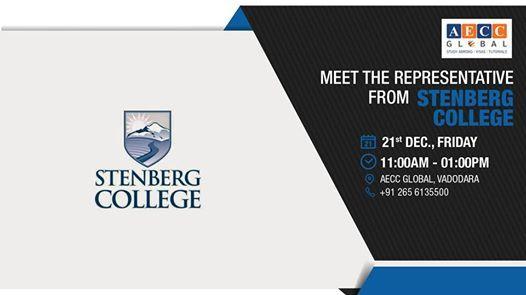 Meet The Representative From Stenberg College - Vadodara