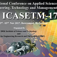 Conference on Applied Science EngineeringTechnologyManagement