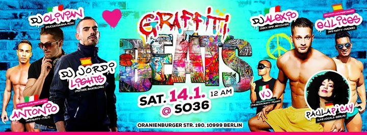 Graffiti Beats  Party Berlin  14January2017  SO36