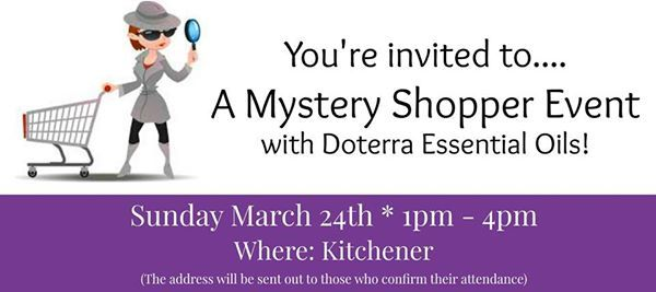 Mystery Shopper Event with Essential Oils