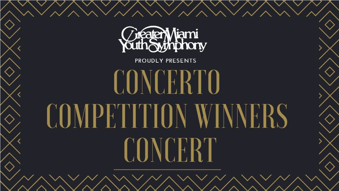 GMYS Concerto Competition Winners Concert