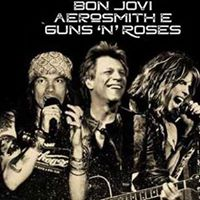 Shows cover GunsnRoses Bon Jovi e Aerosmith Velvetpub