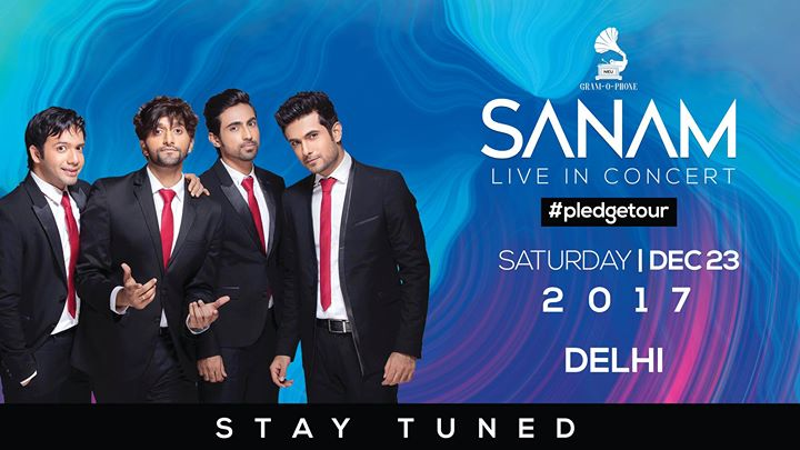 Image result for Live In Concert SANAM 23 December 2017
