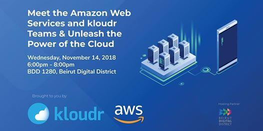 kloudr & Amazon Web Services - Unleash the power of the Cloud