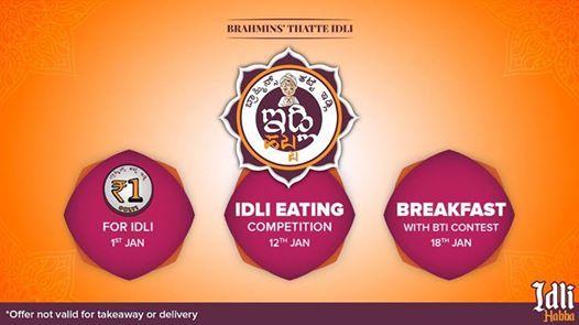 Brahmins Idli Habba