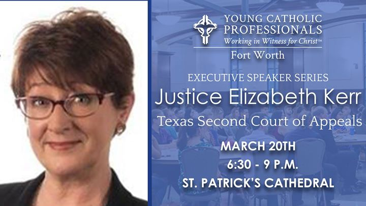 YCP March Executive Speaker Series with Justice Elizabeth Kerr