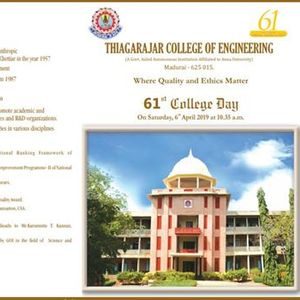61st College Day