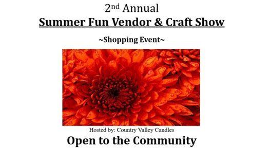 2nd Annual Summer Fun Vendor & Craft Show