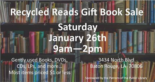 Recycled Reads Gift Book Sale