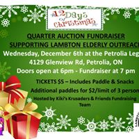 Quarter Auction Fundraiser Supporting Lambton Elderly Outreach