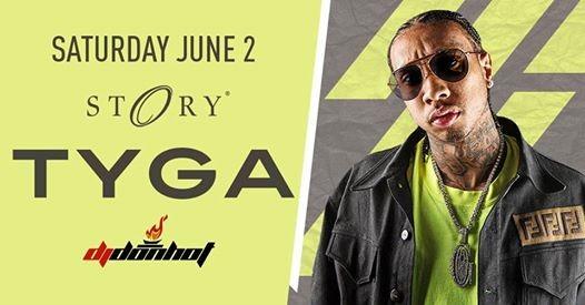 Tyga STORY - Sat. June 2nd