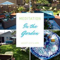 August Meditation in the Garden