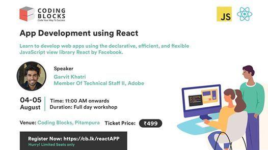 Application Development Using React