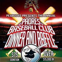 Annual Peabodys Padres Baseball Club Raffle Party