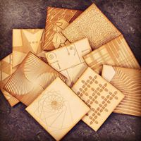 Introduction to Laser Cutting Wooden Coaster Tiles at MadFabLab