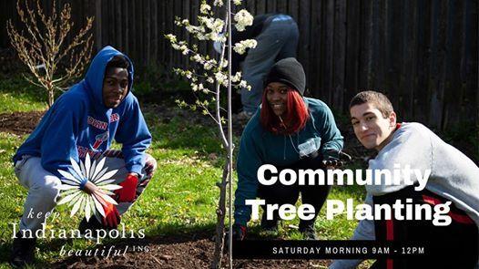 KIB Tree Planting Reagan Park