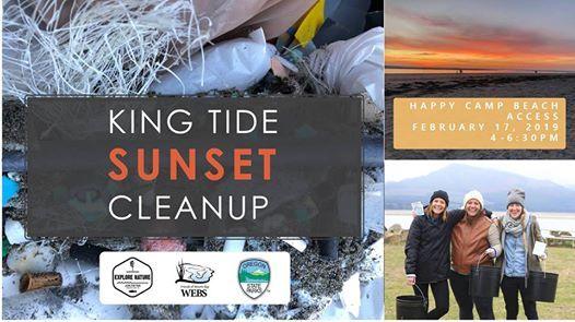 King Tide Sunset Cleanup Oceanside