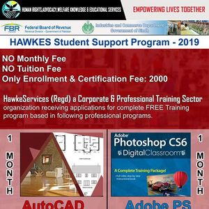 Hawkes Student Support Program - 2019 Short Courses