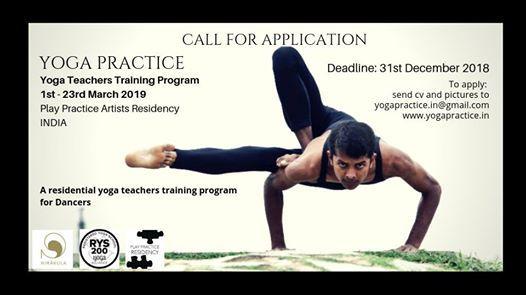 Yoga Practice  Yoga teachers training  India
