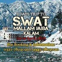 3 Days To Explore Swat Valley (13-16 April2k17)
