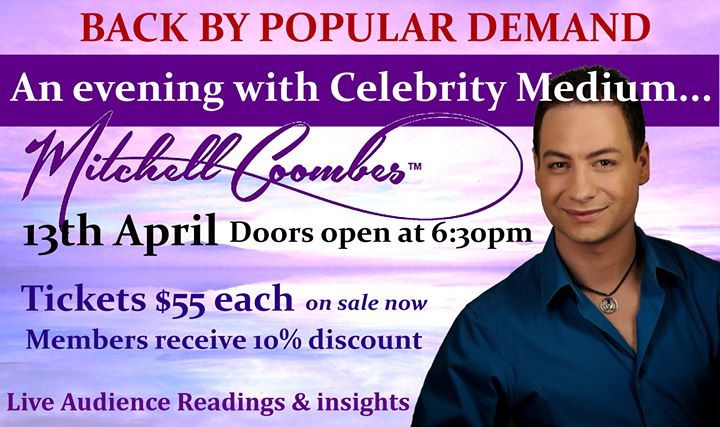An evening with Mitchell Coombes