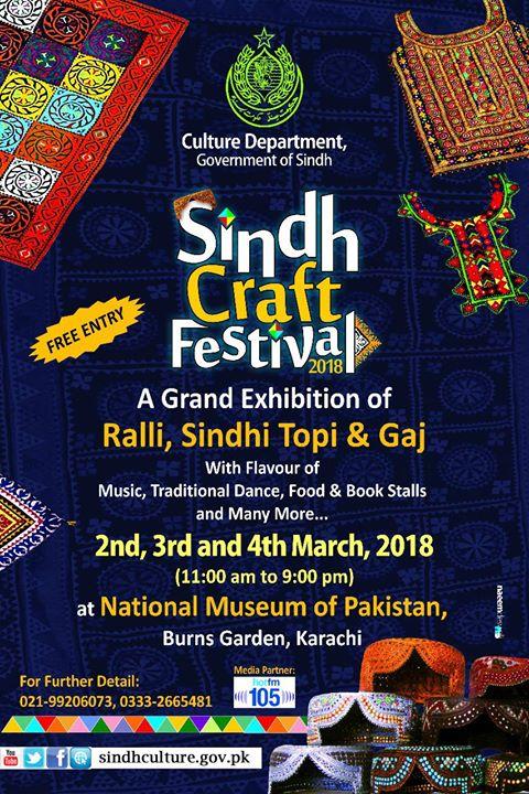 Sindh Craft Festival at National Museum of Pakistan, Karachi