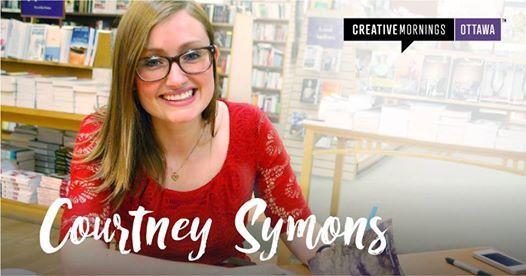 CreativeMornings Ottawa with Courtney Symons