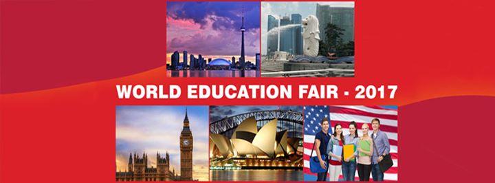 World Education Fair in Bangalore
