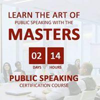 Master Orator (Speak With Confidence) Season VII