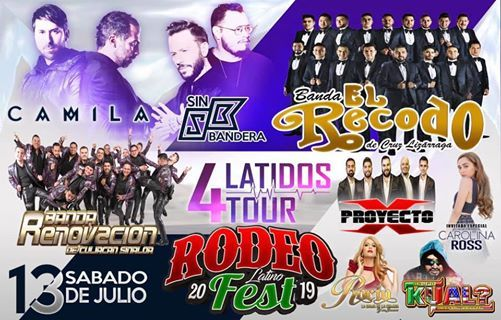 Rodeo Latino Fest Salinas California 2019 At Salinas