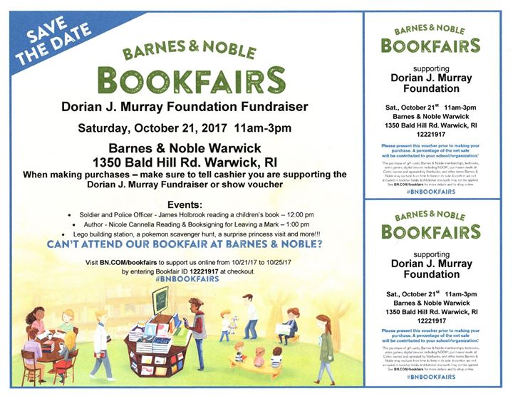 Dstrong Fundraiser At Barnes And Noble Warwick