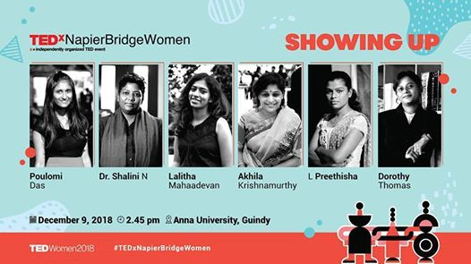 TEDxNapierBridgeWomen 2018