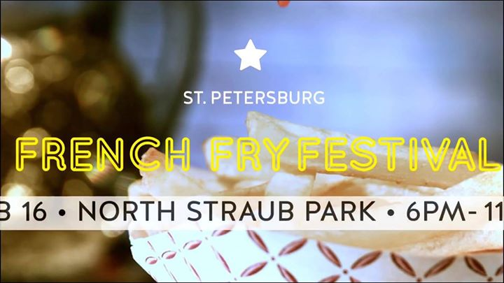2nd Annual St. Pete French Fry Festival - Free Admission