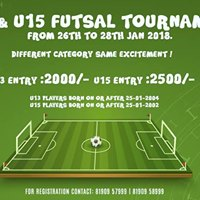 U13 &amp U14 Futsal Tournament