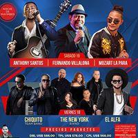 Latin Music Tours 2017
